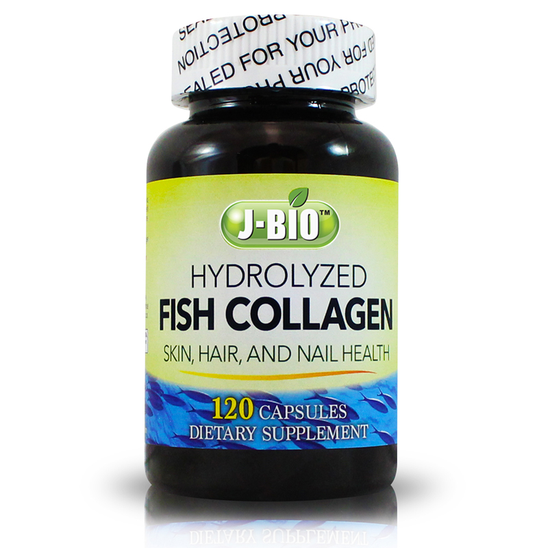 J bio fish collagen gmp global marketing inc for Hydrolyzed fish collagen